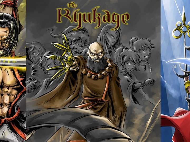 The Ryukage – Original Comic Series