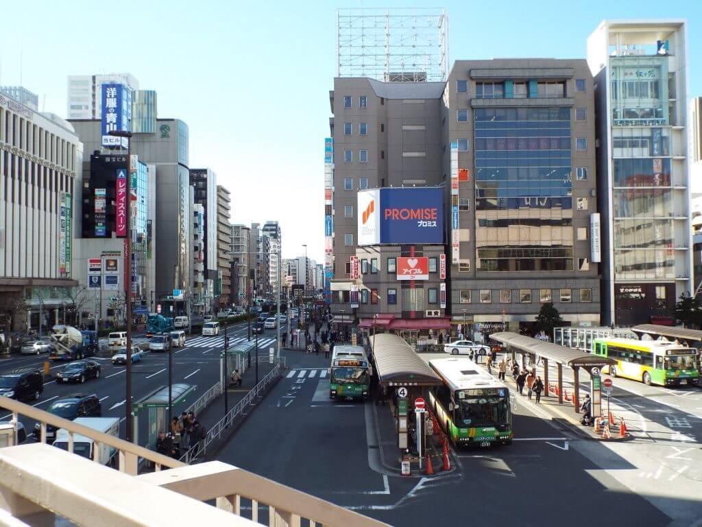 Kinshicho Station View 1